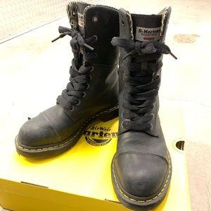 Dr. Marten's 'Leah' Women's Steel Toe Work Boots
